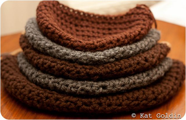 I love crafts - cross stitching, jewelry making, knitting, and sewing.  These hats are not only cute - they are also warm.