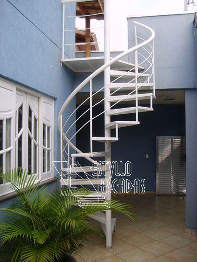 casa escada externa - Pesquisa Google