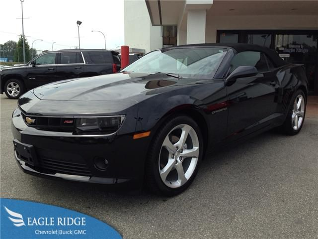 2015 Chevrolet Camaro Convertible for sale at Eagle Ridge GM in Coquitlam, near Vancouver!  http://eagleridgegm.com http://facebook.com/eagleridgegm http://twitter.com/eagleridgegm