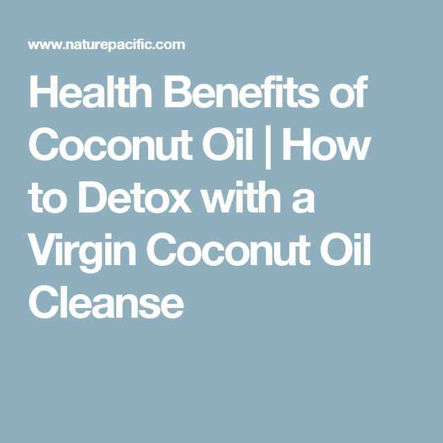 Health Benefits of Coconut Oil | How to Detox with a Virgin Coconut Oil Cleanse