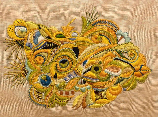 More Pascal Jaouen embroidery
