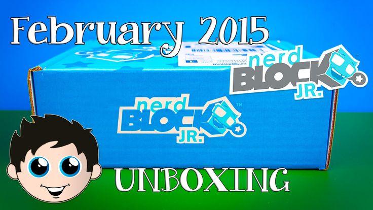 Nerd Block Jr Boys Edition February 2015 Mystery Toy Unboxing!