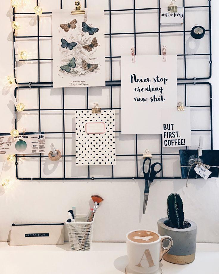 Home Office Inspo Grid Schreibtisch