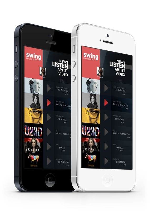iphone Music App. Concept on Behance