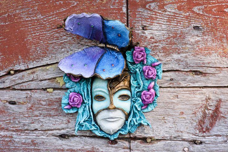 """Maschera di carta """"Madre Terra"""" di Bidigo su Etsy"""