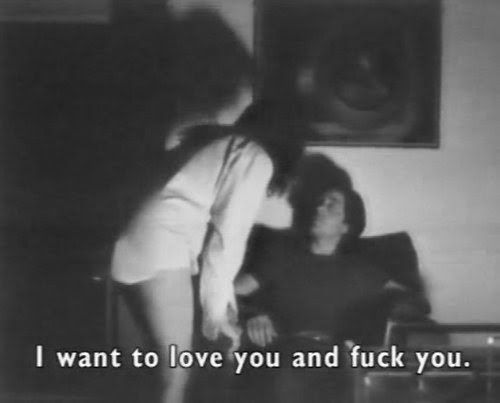 I want to love you and fuck you.