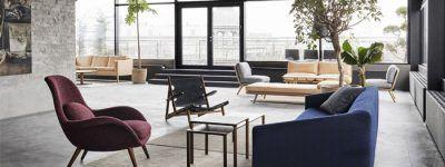 Fredericia opens new rooftop showroom in Copenhagen