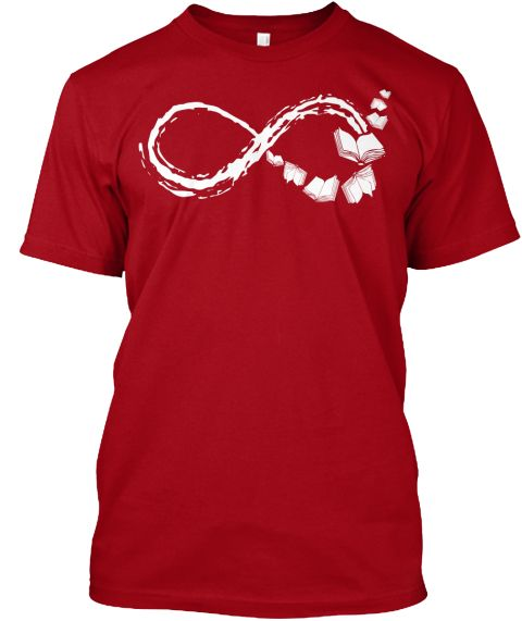 books infinity shirt