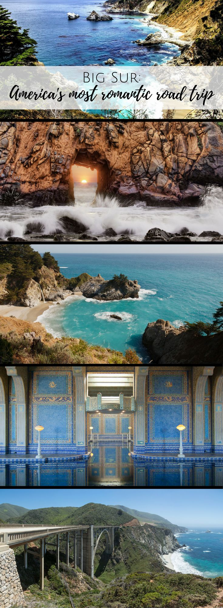 Fall in love with the California coast!