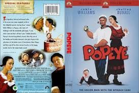 #popeyemovie #popeye #movie #poster #dvdcover #coverart #dvd #robinwilliams