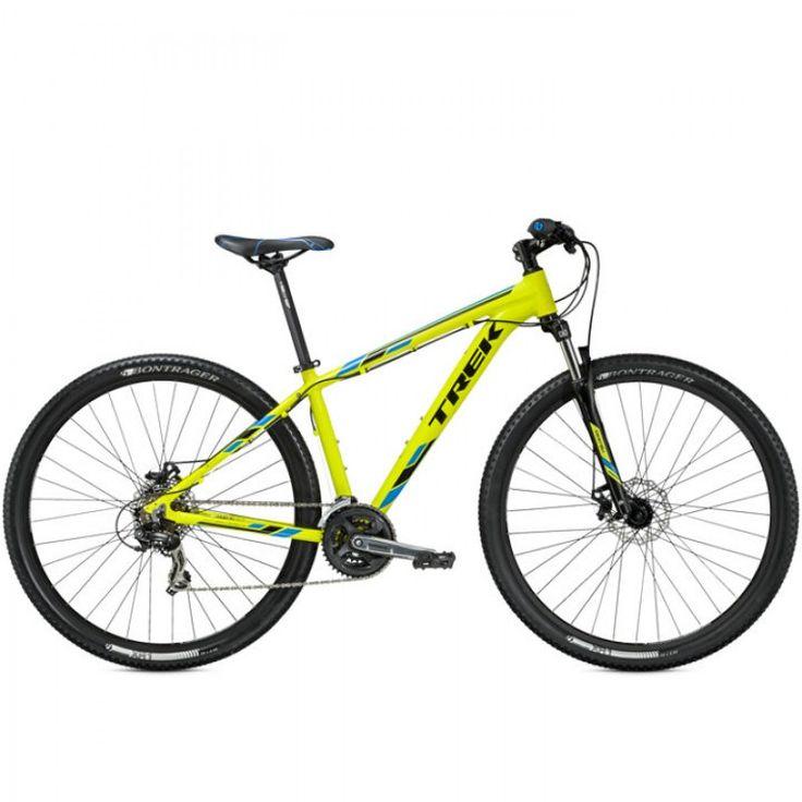 Bicicleta Trek Marlin 5 MTB Smart Wheel 29er & 650B Disc 2015 - Shimano Tourney/Altus 21vel - Amarelo e Preto - Trek
