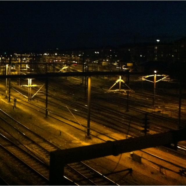 Tracks outside CPH centralstation