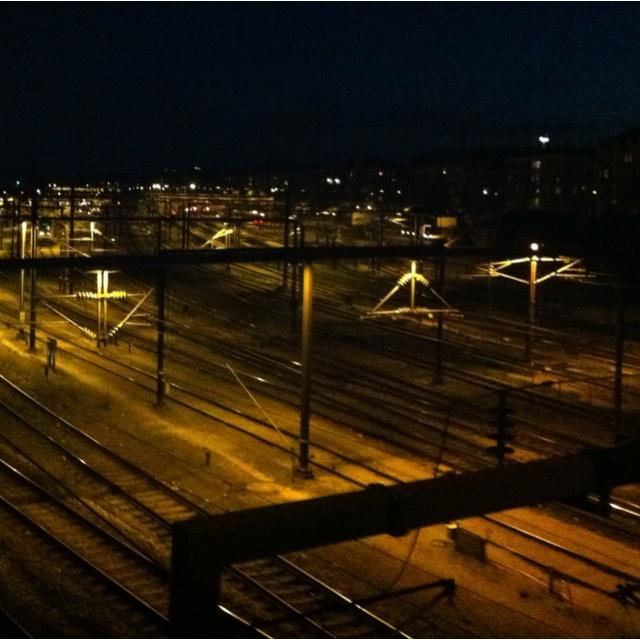 Tracks outside CPH centralstation