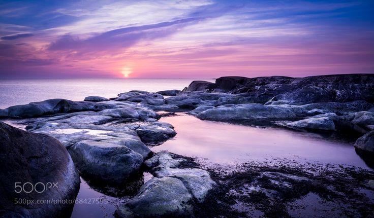 Silk Rocks Sunset by Martin Onsholm on 500px