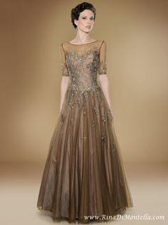 bronze wedding dress - Google Search
