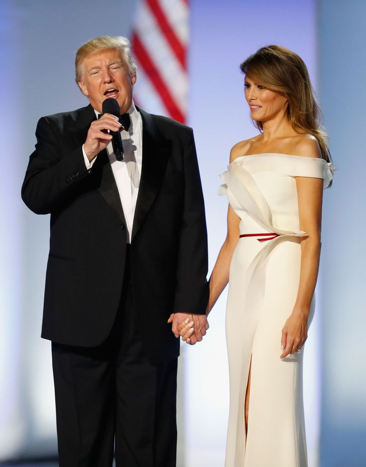 Melania Trump Helped Design Her Own Inaugural Ball Gown