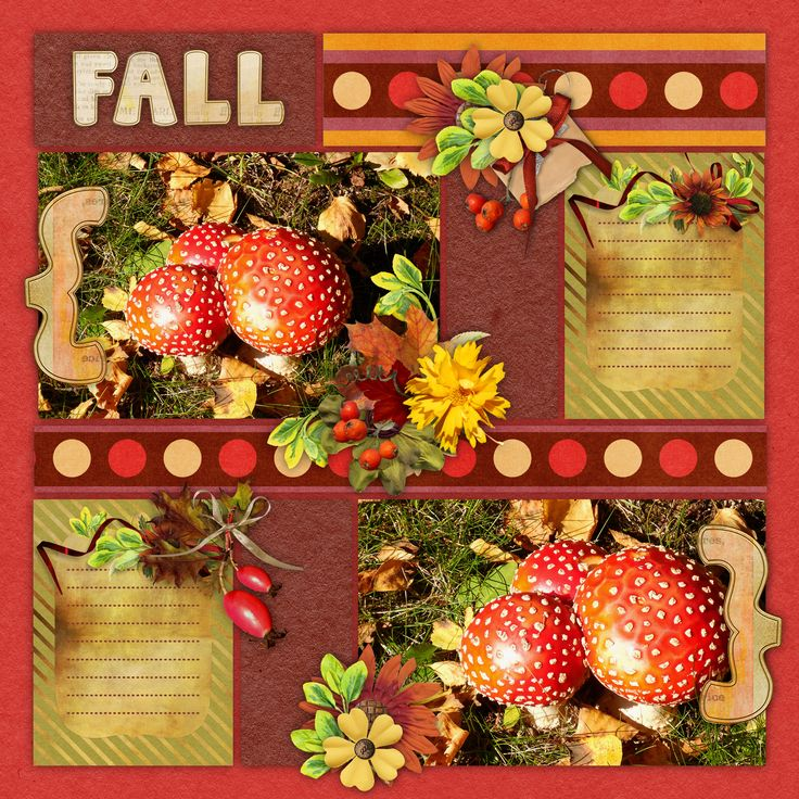 "template ""Feelin' Flannel"" by Blue Heart Scraps, http://blueheartscraps.com/dsd-2017-celebrations-freebies/, bundle ""Hallo October"" by BooLand Designs"