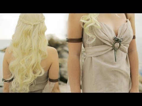 DIY DAENERYS TARGARYEN - KHALEESI - COSTUME TUTORIAL (Pinning for two of my friends who love Game of Thrones.)