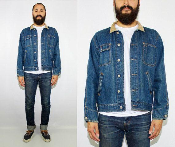 90s Vintage Polo Jeans Co Ralph Lauren Denim Barn Jacket  Polo Ralph Lauren - Polo Sport by DiveVintage from Passport Vintage. Find it now at http://ift.tt/2hF3bKb!
