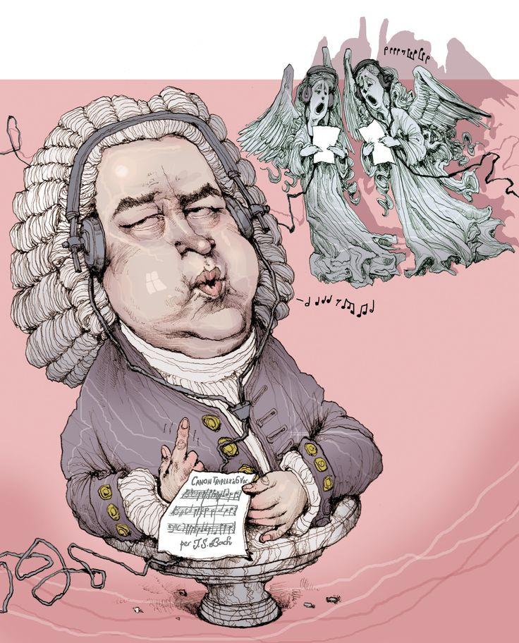 JS Bach, by Paul van der Steen