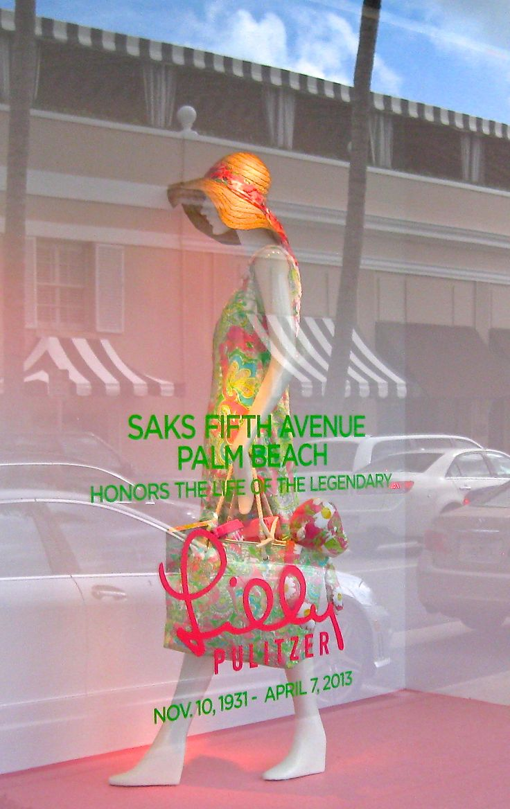 792 best lilly oh preppy lilly images on pinterest lilly and i love that the two stores worked together to put up this tribute at saks palm beach a tribute to the late lilly pulitzer