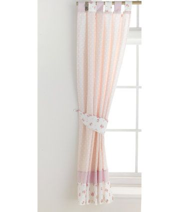 Mothercare Little Lane Tab Top Curtains - curtains & blinds - Mothercare