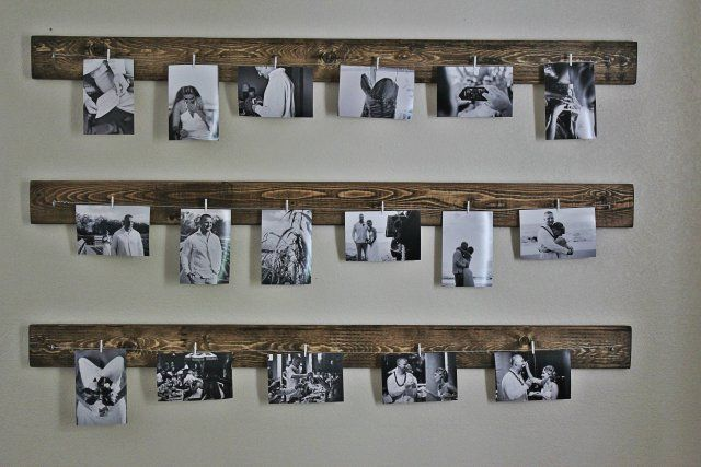 Ideen zum Aufhängen von Familienbildern – #
