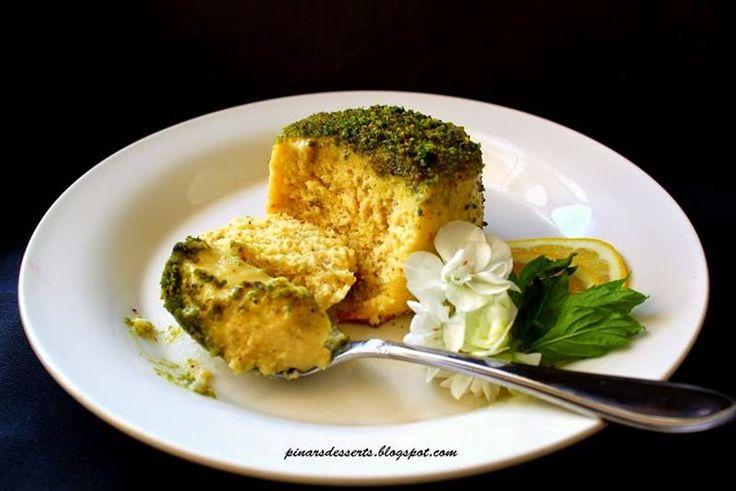 Limonlu Ve Antep Fıstıklı Puding Kek    -  Pınar Ünlütürk #yemekmutfak