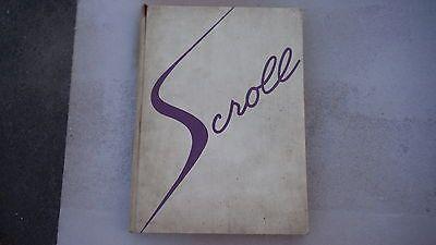 1955 Herbert Hoover High School Yearbook Scroll Glendale Ca ...