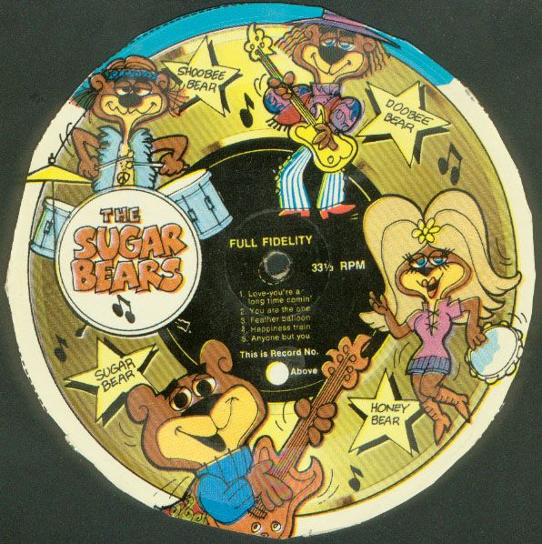 Cereal Box Records. These Came On The Backs Of Cereal And
