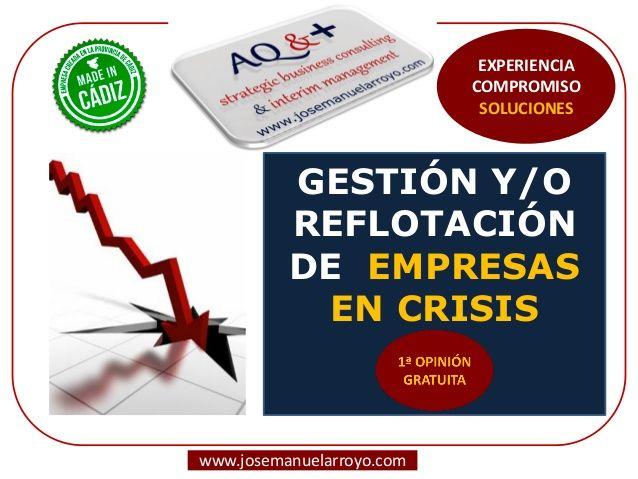 Gestión y Reflotación de Empresas en Crisis. Presentación de Servicios Profesionales.