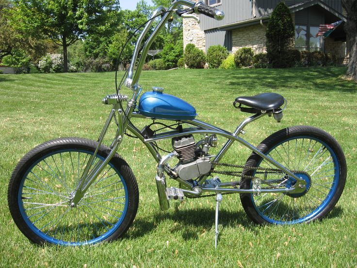how to make a motorized bike with a chainsaw engine