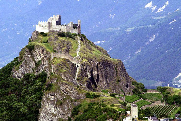 Swiss Castle in Sion | Castle Fantasy | Pinterest | Other ...