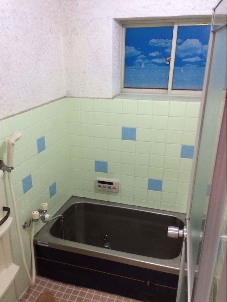 浴室のモルタル壁をdiyでペンキ塗装する方法 お風呂 リフォーム Diy 浴室 タイル お風呂 リフォーム