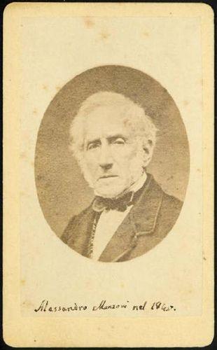 Alessandro Manzoni Mantova 1865 - 1873  #TuscanyAgriturismoGiratola