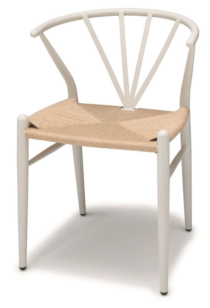 Delta stolar/stol - i vitlack - Svenska Hem