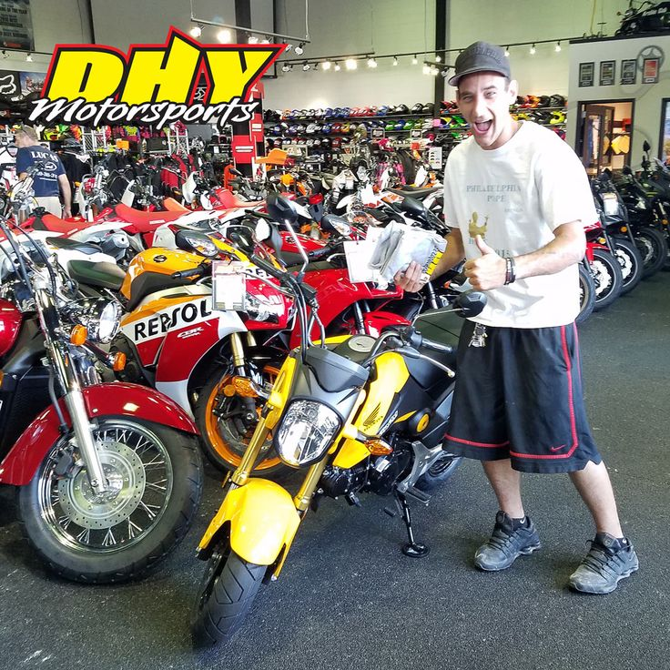 Congratulations to Christopher from #Philadelphia on his purchase of this 2015 #Honda #Grom #125F Enjoy plenty of fun. Thank you for making your purchase at #DHYMotorsports You can help Chris win a $100 DHY Gift Card by clicking 'Like' on this post. #mynewride #dhynj