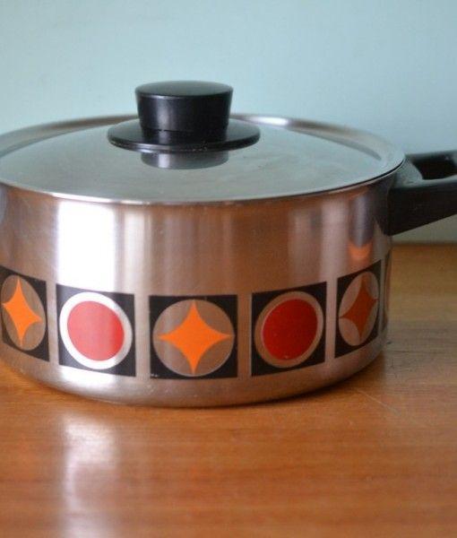 Vintage Prinz Isotherm 18/8 Germany saucepan