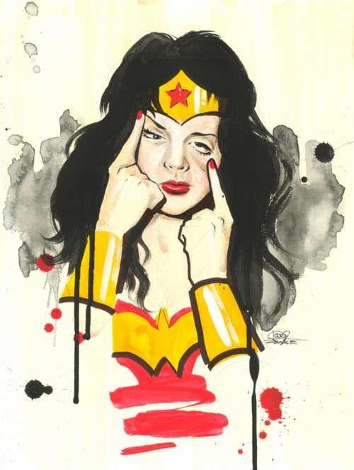Lora Zombie Portrays Wonder Woman as a Childish and Silly Brat