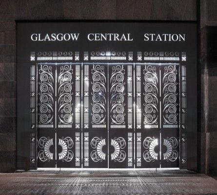 Central Station, Glasgow, Scotland | photos © Andrew Lee Photographer