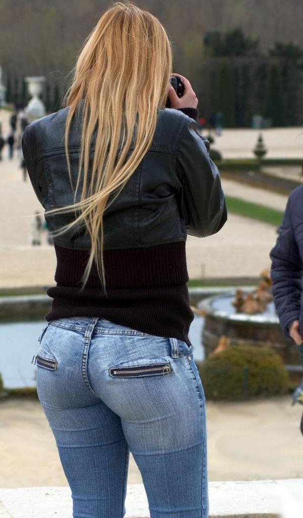"d64df9b3e702 peacepax  "" Random tight jeans """