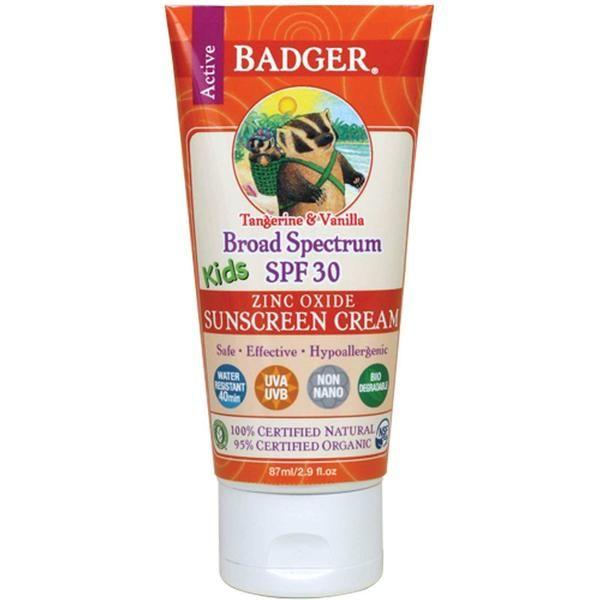 Natuurlijke Zonnebrandcrème kopen (Geschikt voor kinderen)