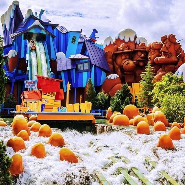 Image result for Ripsaw Falls de Dudley Do-Right