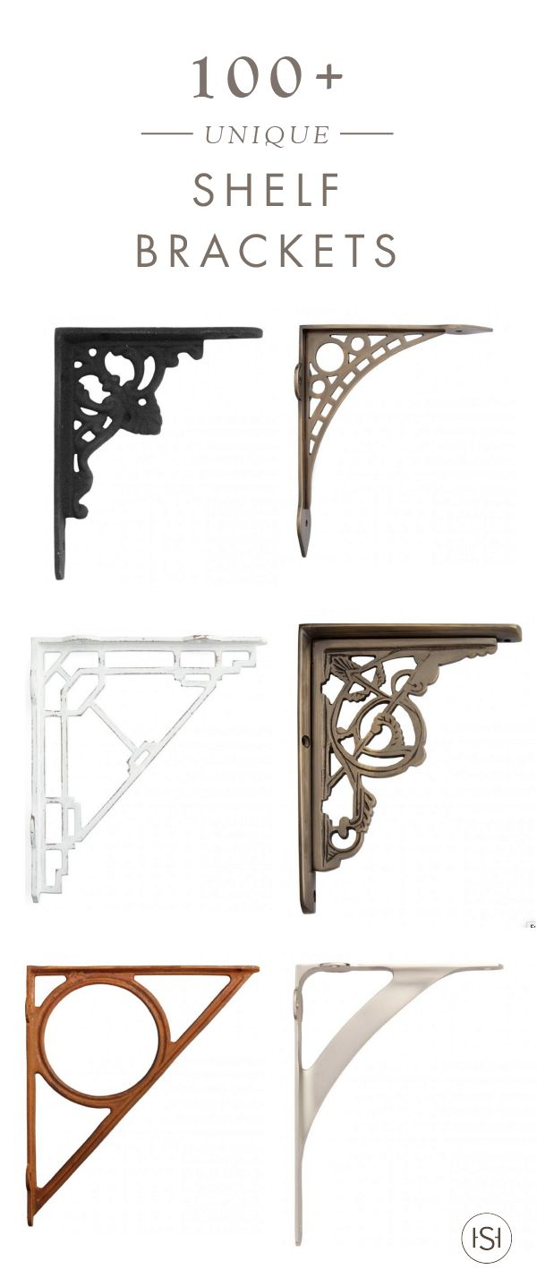 When you want to incorporate exposed shelving to your home but want it to add that bit of something extra to your space, that's where Signature Hardware's collection of 100 + Unique Shelf Brackets come in handy!