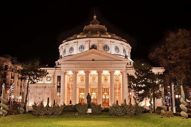 The Romanian Atheneum, Bucharest, Romania