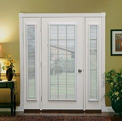 Nice ODL Enclosed Blind For Steel And Fiberglass Doors