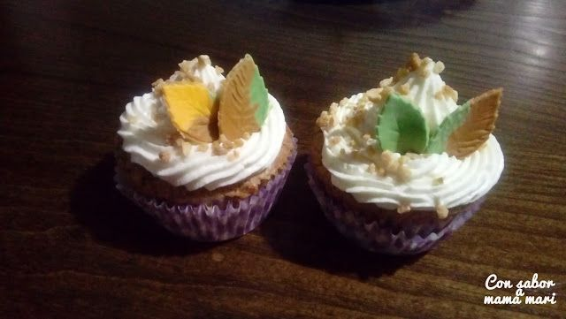 Con sabor a mama mari: Cupcakes de canela y miel para el otoño