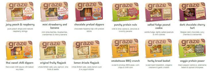 New Graze #grazeonthego range