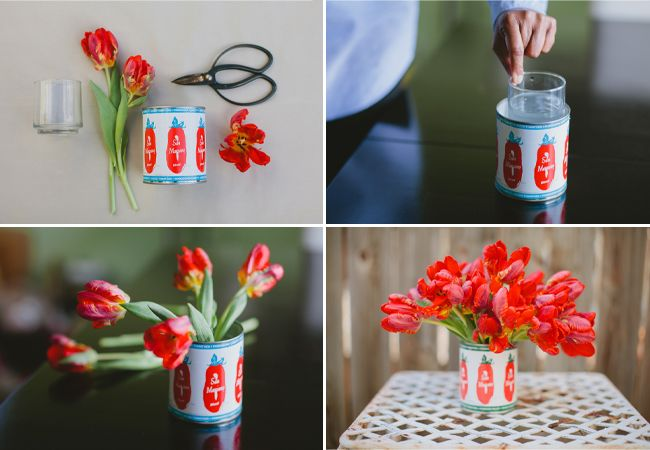 Ideas about tulip centerpieces on pinterest