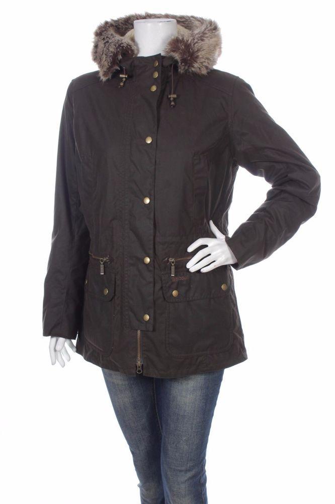 Barbour Women Jacket Kelsall Waxed UK 14 EU 40 #Barbour